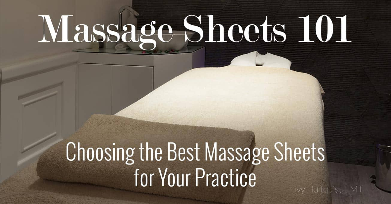 Luxury best massage sheets for your practice